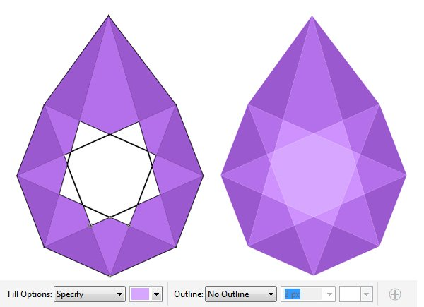 apply the color with Smart Fill tool 2