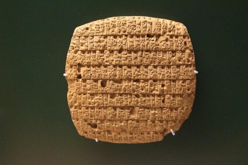 mesopotamia early writing