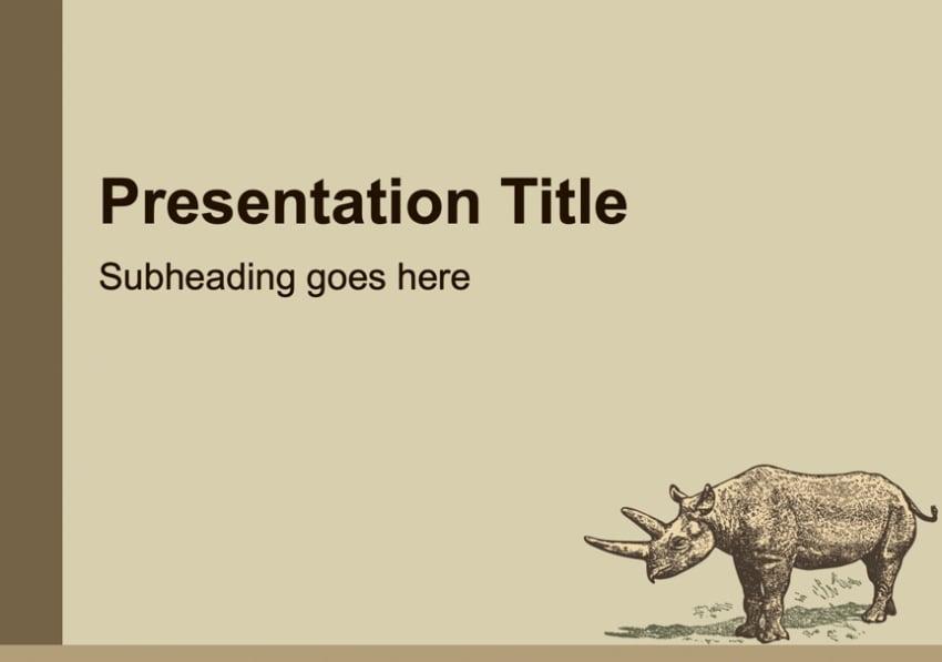 25 kostenlose tier präsentationsvorlagen für powerpoint
