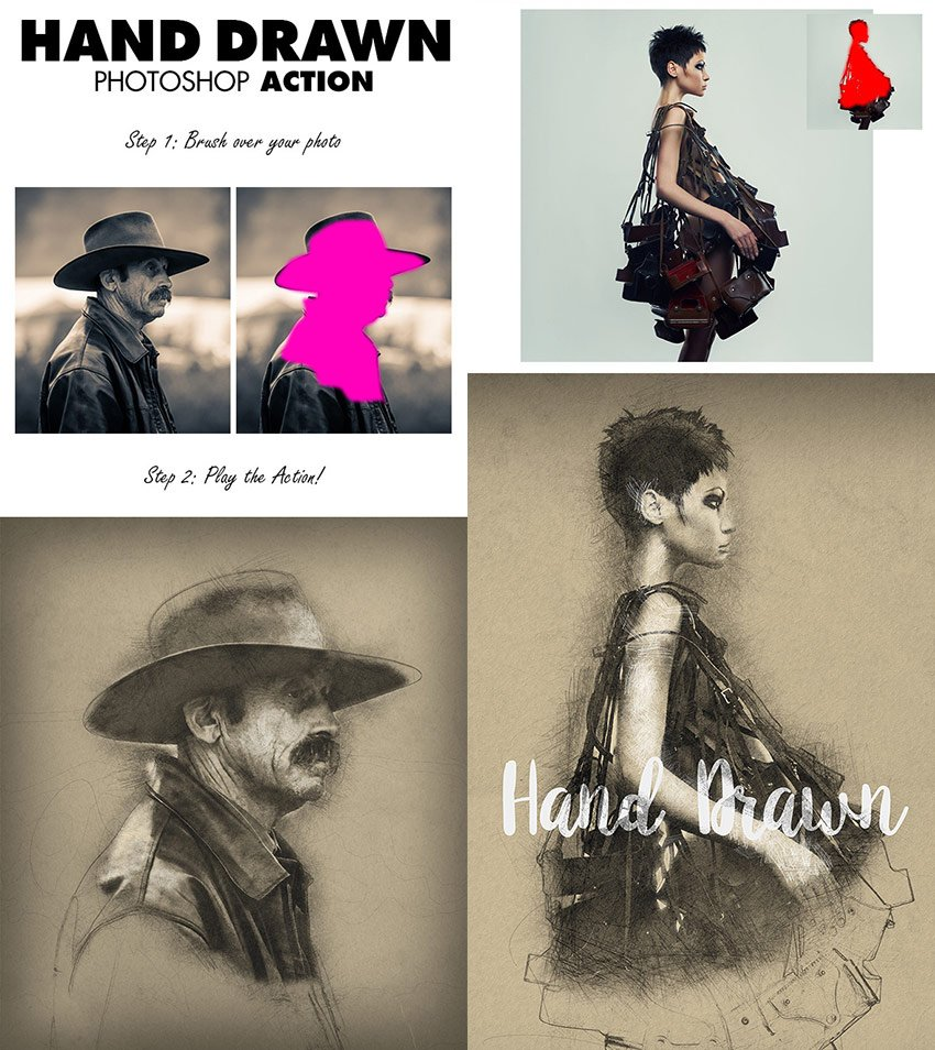 Watercolor - Effect PSD Photo Action