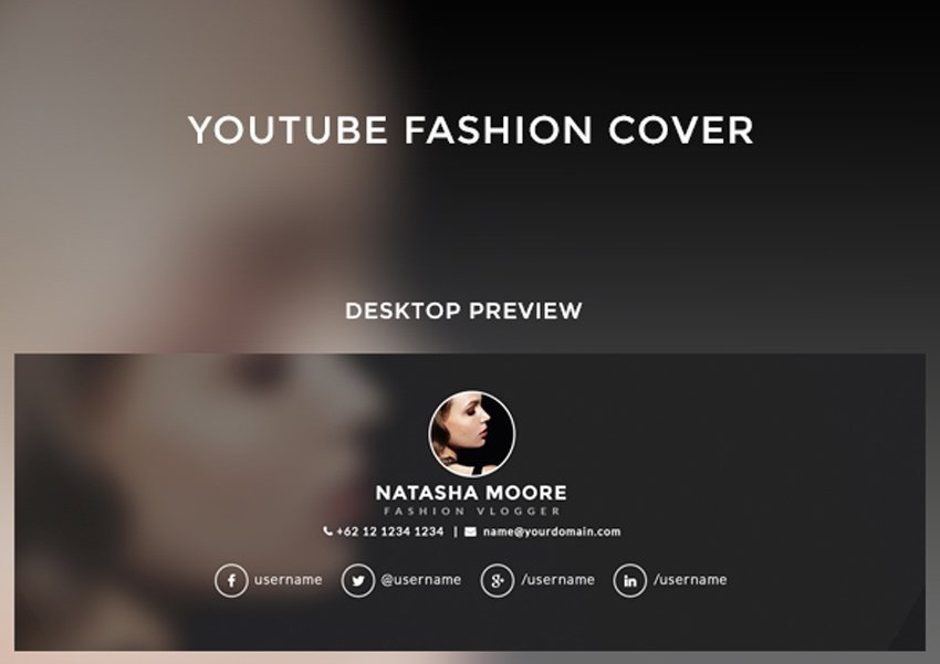 5 - Multipurpose YouTube Channel Art