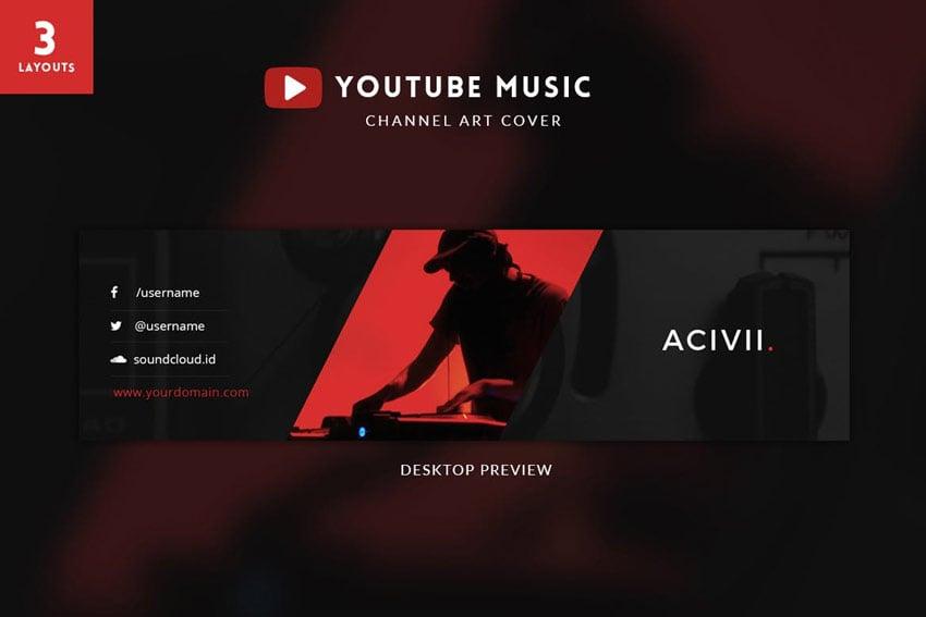 Hoop - YouTube Channel Art