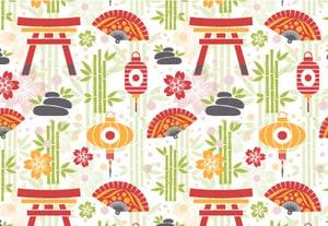 Oriental pattern tuts400
