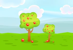 30 game background mesh tree400