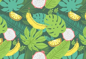 33 tropical seamless pattern400