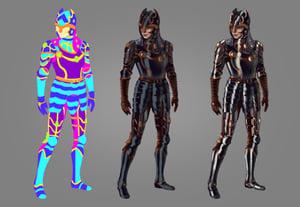 Paint metal armor prev