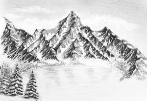 How to draw winter landscape prev min