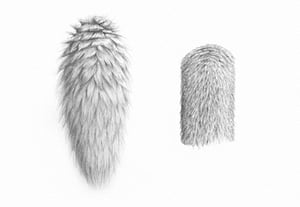 How to draw fur preview