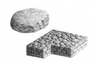 How to draw stone preview min