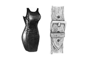 How to draw leather preview min