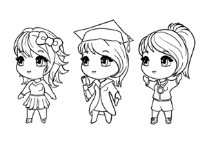 How to draw chibi preview