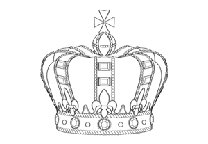 How to draw crown preview