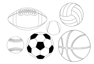How to draw ball baseball preview