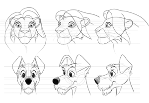 How to draw disney animalsp preview