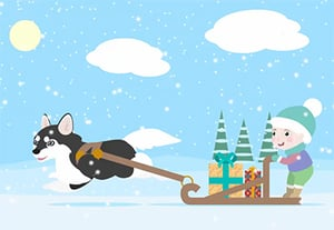 How to create cta3 winter animation preview