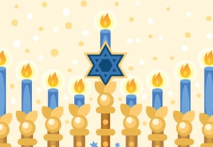 Preview tut dec 2017 hanukkah menorah card by misschatz
