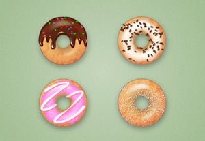 Diana donut icons tut preview