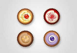 Diana overhead cupcakes tut preview