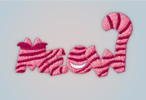 Diana cheshire cat text effect preview1b min