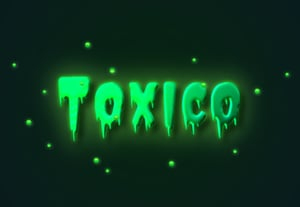 Diana toxic glow effect text effect image preview min