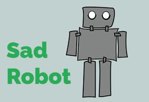 Sad robot prev