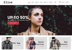 Shopify theme featured