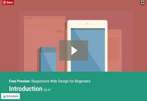 Responsive web design tutorials