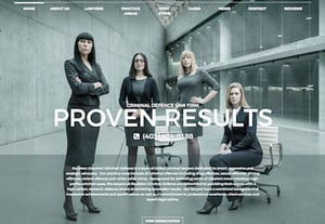 Law firm website designs