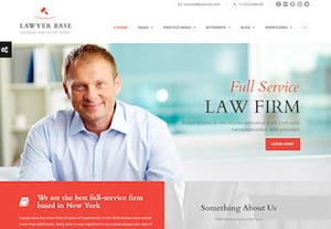 Market law firm website preview