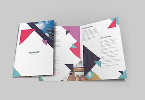 Photoshop brochure design preview