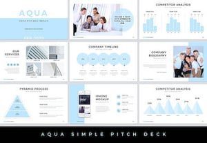 Pitch deck presentations preview