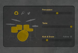 Using drummer preview image