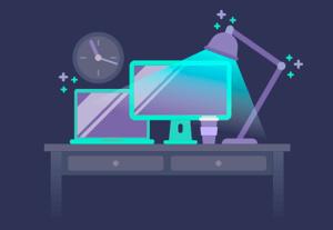 Preview night desktop