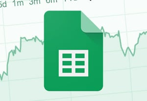 Google sheets stock