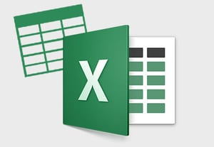 Excel data tables icon