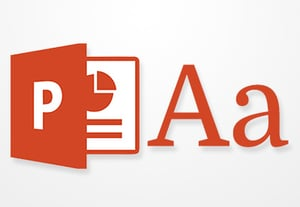 Pptx typography icon