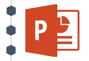 Powerpoint timeline icon