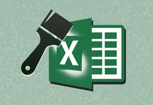 Excel fromatting icon size