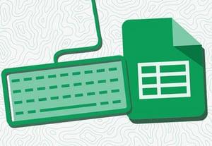 Sheets keyboard shortcut illustration icon