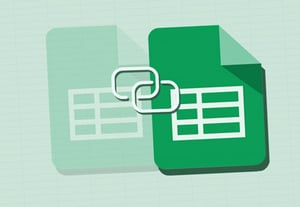 Link sheets template icon