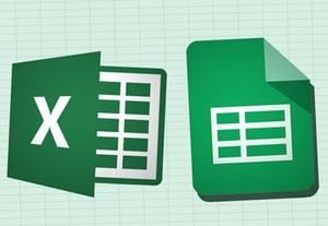 Sheets vs excel icon