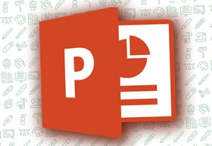 Powerpoint template icon
