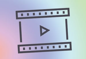 Video icon ae color