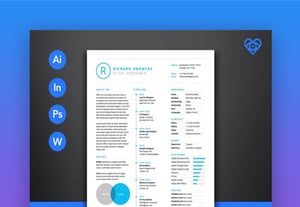 20 clean resume templates