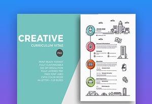 Creative resume 25