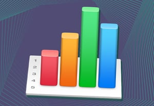 Numbers organize data icon