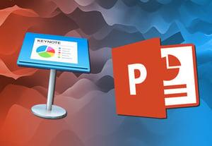 Keynote vs pptx icon