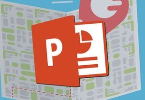 Powerpoint maps icon