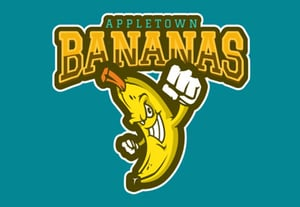 Appletown bananas logo
