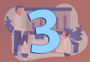 3 business meetings